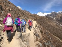 Heading to Gokyo Valley