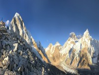 Panorama view of the Everest