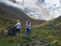 Enjoying view of Annapurna Panorama