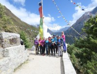 high way trail to Everest Base Camp