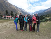 At Tyanbuche Monastery.