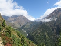 green valley view of the Khumbu