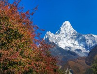 Mt Ama Dablam [known as mother and  child