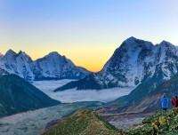 excellent view with khumbu Glacier