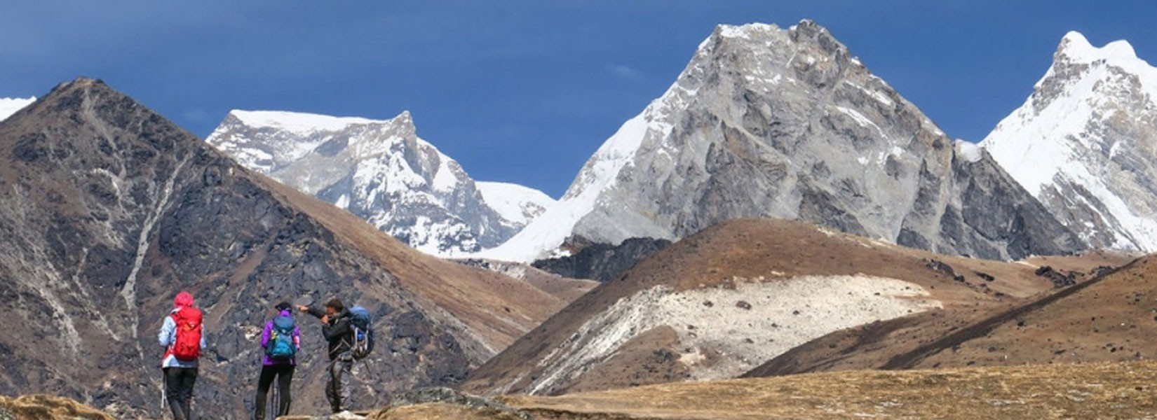 Three High Passes of Everest Trekking